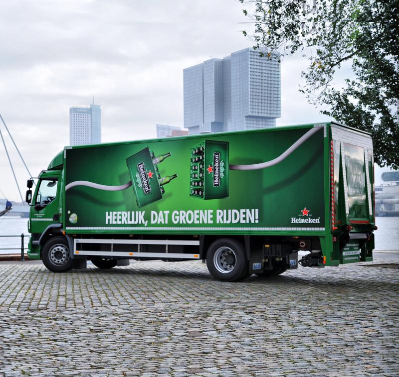 Emoss Heineken truck