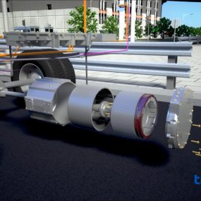 Dana TM4 electric powertrain technologies for buses and commercial vehicles - Video still