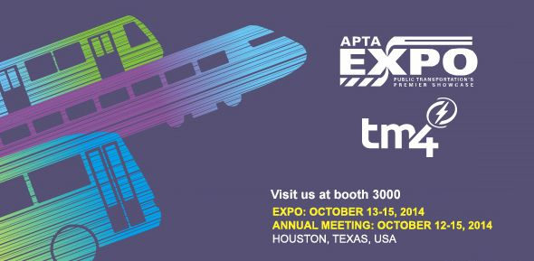 Dana TM4 Flyer - APTA Expo