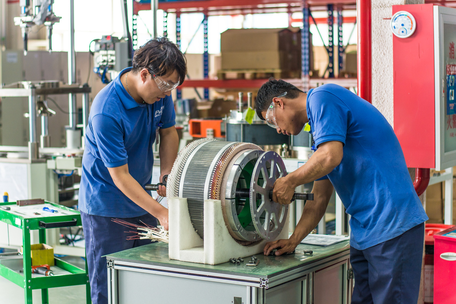TM4 rotor production in China