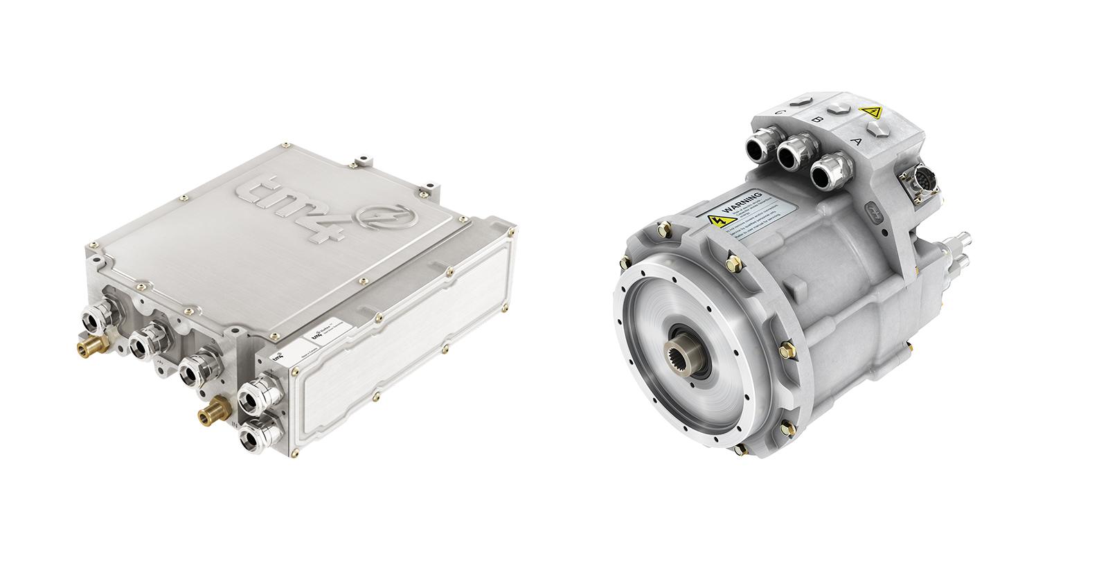 TM4 MOTIVE system - CO150 inverter and HSM20 motor