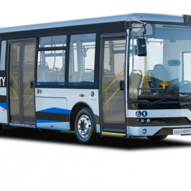 TEMSA MD9 is a electric bus equiped with TM4 SUMO motor and inverter