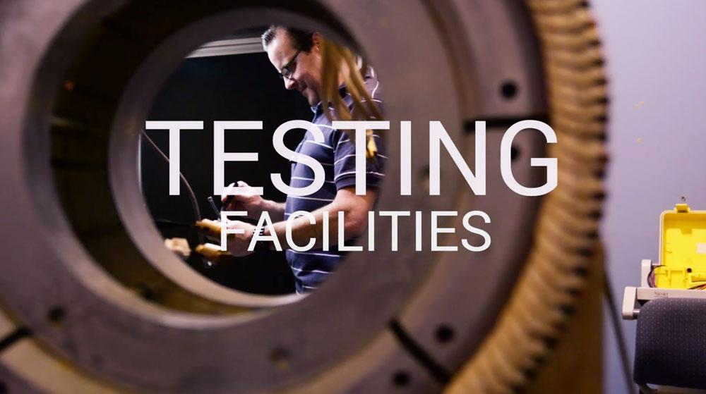 TM4 video on testing facilities