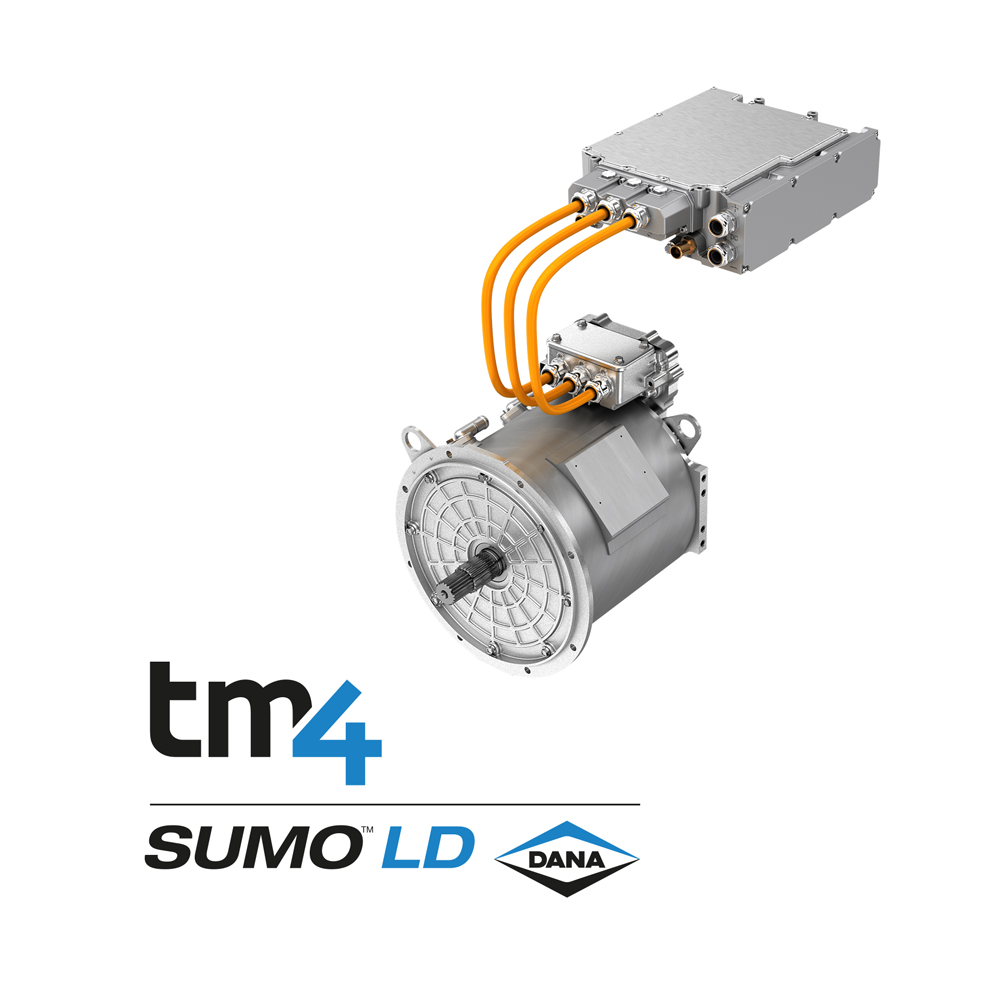 Commercial Vehicle Lighting: Dana Expands TM4® SUMO™ Electric Powertrain Offerings Into